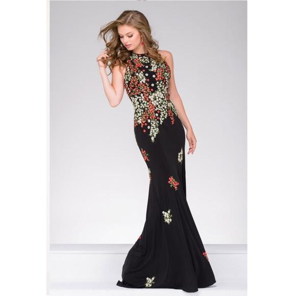 7b31997d795 Jovani 48104 Evening Prom Dress
